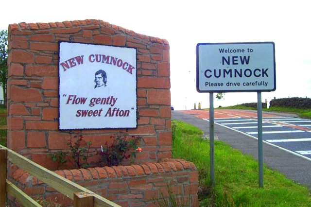 New Cumnock Auld Lang Signs