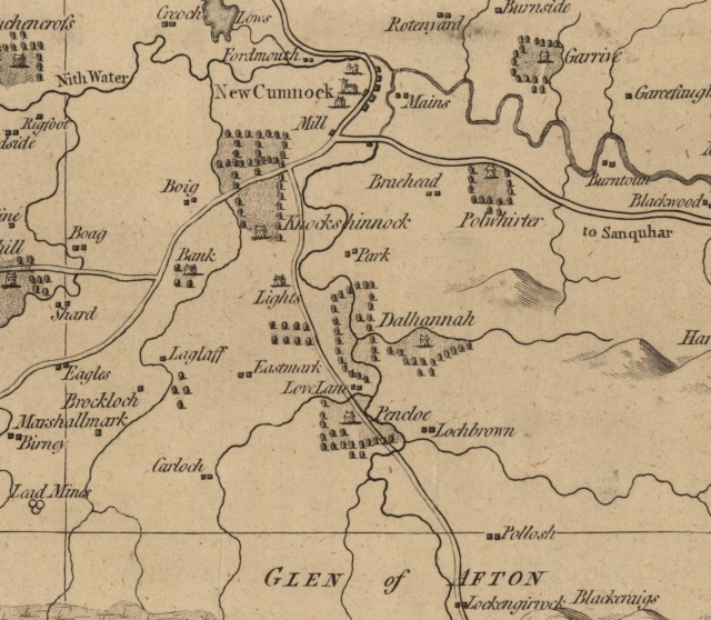 Armstrong's Map of Ayrshire , 1775