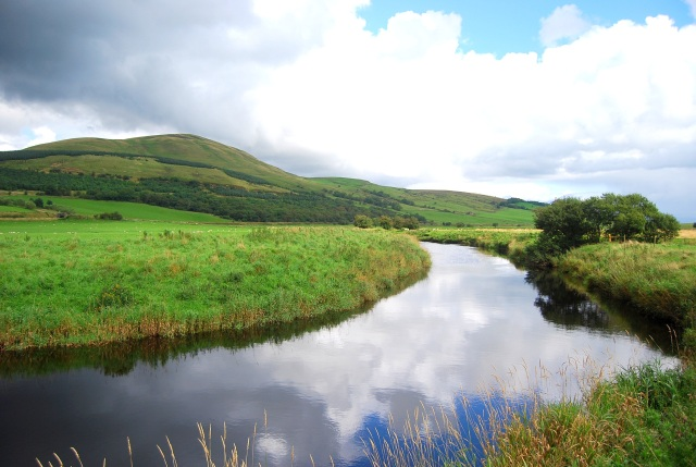 Corsencon Hill and River Nith