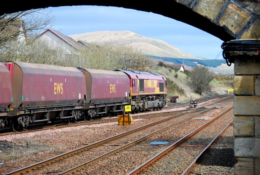 Coal train with Corsencon