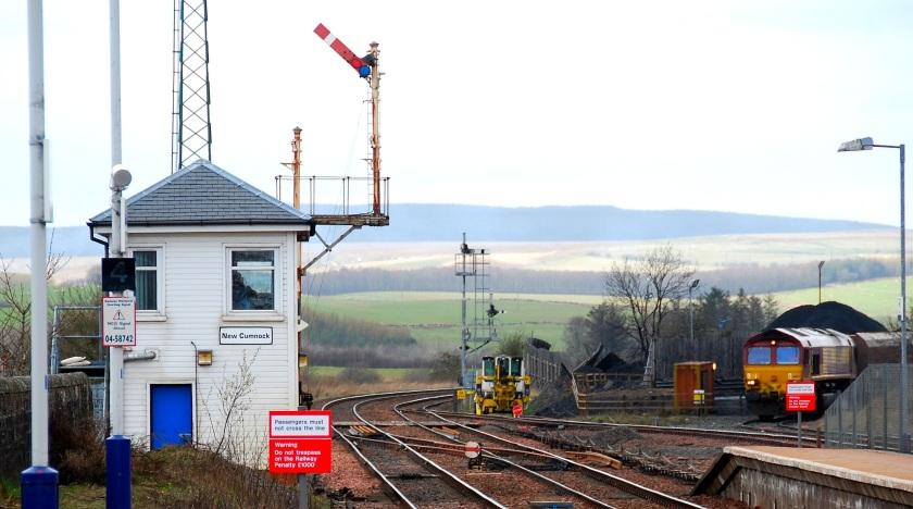 New Cumnock Signal Box
