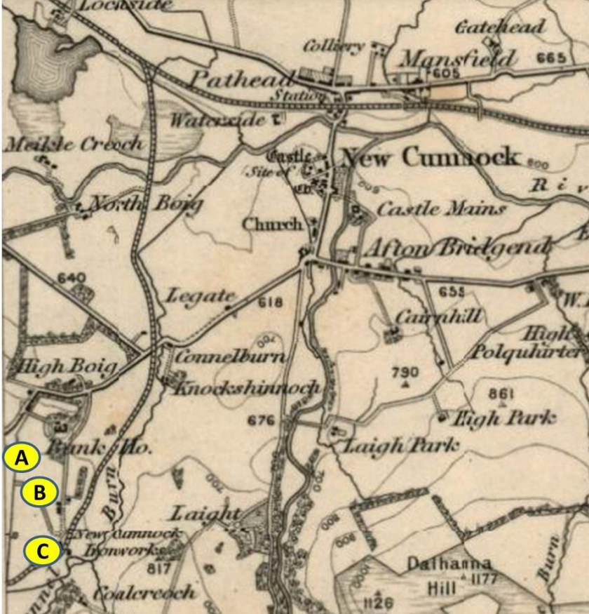 Courtesy of National Library of Scotland (OS Map