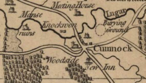 Armstrong Map of Ayrshire (1775): Reproduced with the permission of the National Library of Scotland