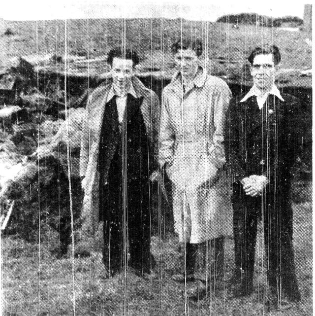 Alex Harrison, Gibb McAughtrie and Robert Daubney (Cumnock Chronicle)