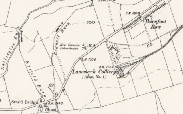 map_lanemarkfarm_lanemark_colliery_BurnfootRow